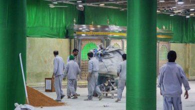 تصویر از اتصال سردابهای حرم حسینی اربعین ۱۴۰۰ تکمیل میشود+ عکس