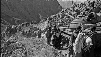 تصویر از «عملیات والفجر۱۰» و استقبال گرم مردم حلبچه از رزمندگان ایران