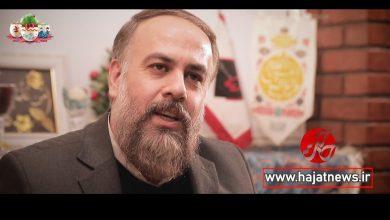 تصویر از تبریک عید حاج محمد کمیل از دوربین حاجت نیوز