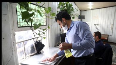تصویر از فعالیت شبانهروزی امانتداریهای حرم با رعایت دستورالعملهای بهداشتی