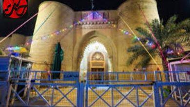 تصویر از چراغانی مسجد کوفه در ایام شعبانیه