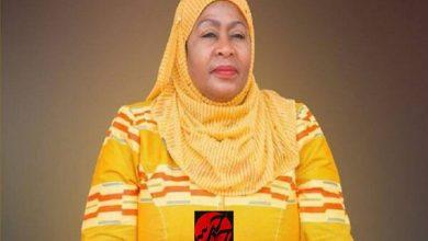 تصویر از نخستین زن محجبه مسلمان رئیس جمهور تاتزانیا شد