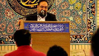 تصویر از گزارش تصویری شب اول ماه رمضان هیئت غریب مدینه مشهد
