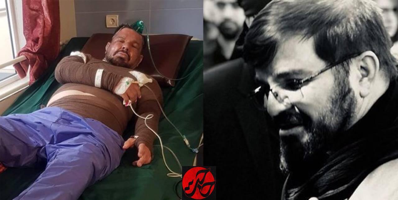 تصویر از درگذشت یکی از ذاکران همدان بر اثر سوختگی