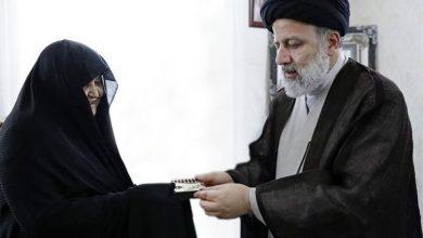 تصویر از رئیس قوه قضائیه درگذشت همسر شهید نظرنژاد را تسلیت گفت