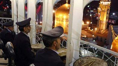 تصویر از به صدا در آمدن نقارهها در حرم رضوی به مناسبت عید سعید فطر