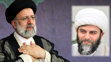 تصویر از حجتالاسلام محمد قمی پیروزی سید ابراهیم رئیسی در انتخابات ۱۴۰۰ را به وی تبریک گفت