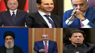 تصویر از تبریک مقامات کشورهای مختلف به مناسبت پیروزی رئیسی در انتخابات ۱۴۰۰