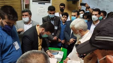 تصویر از حضور سعید جلیلی در انتخابات ۱۴۰۰