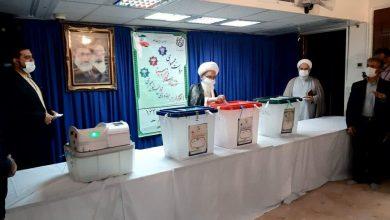 تصویر از حضور مراجع عظام تقلید در انتخابات ۱۴۰۰