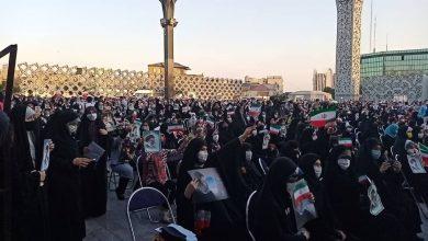 تصویر از جشن پیروزی انتخابات ۱۴۰۰ هواداران رئیسی