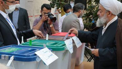 تصویر از صندوق رای گیری انتخابات ریاست جمهوری، مجلس، خبرگان و شورای شهر تهران ۱۴۰۰