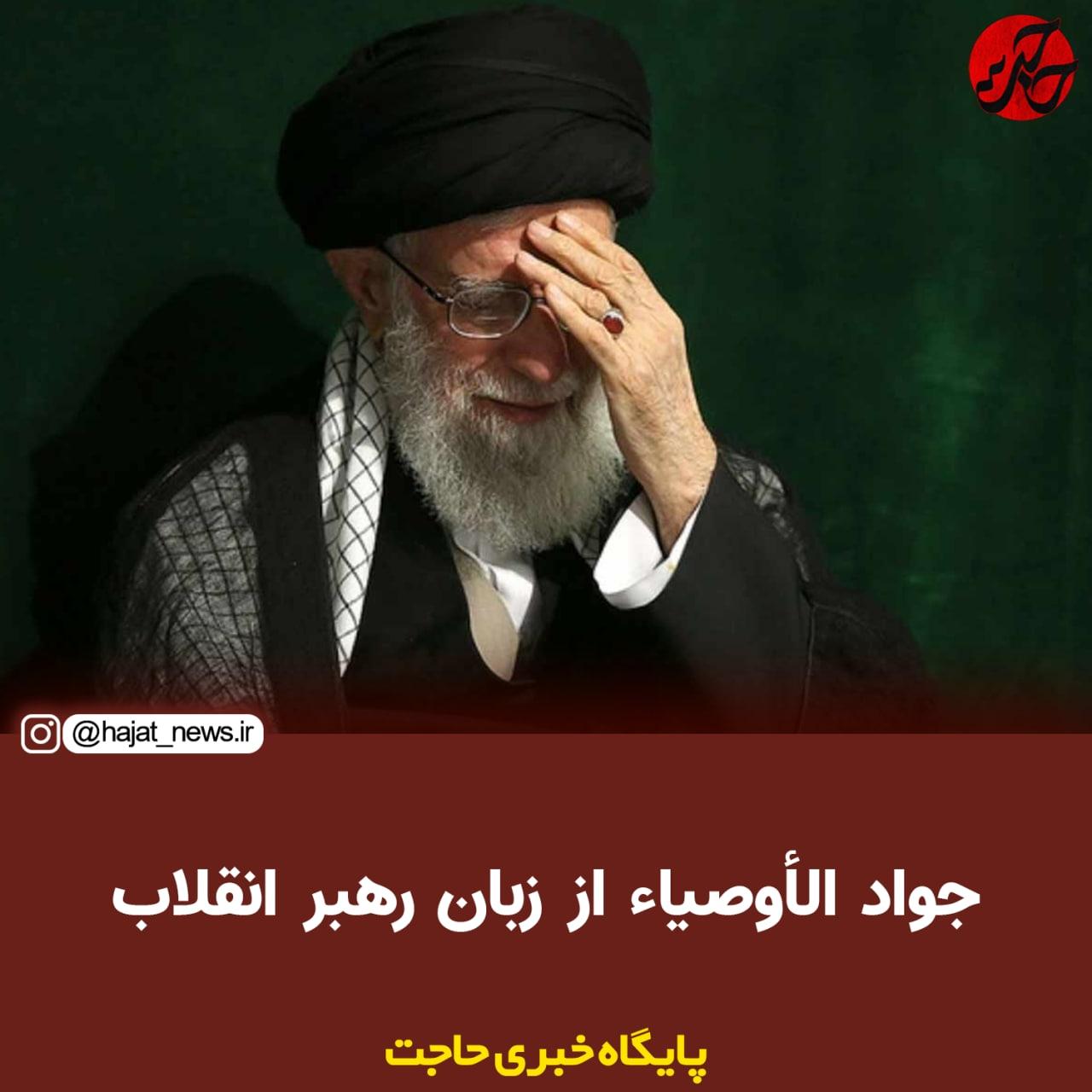 تصویر از جواد الاوصیا از زبان رهبر انقلاب